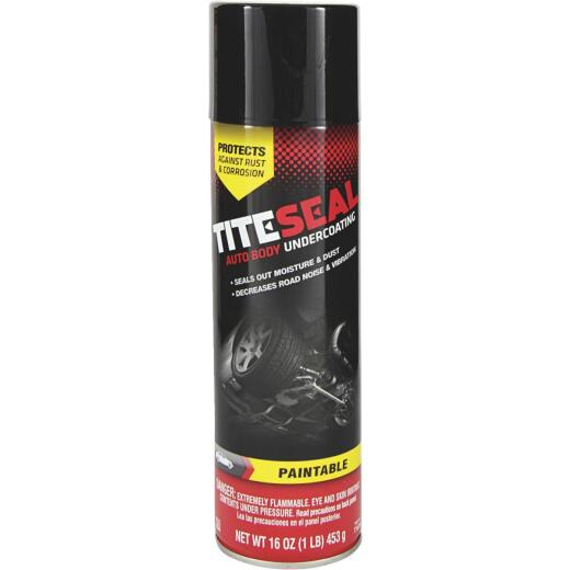 Tite-seal 16 oz Aerosol Spray Auto Undercoat
