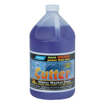 Camco Ice Cutter 1 Gal. -30 Deg F Temperature Rating Windshield Washer Fluid