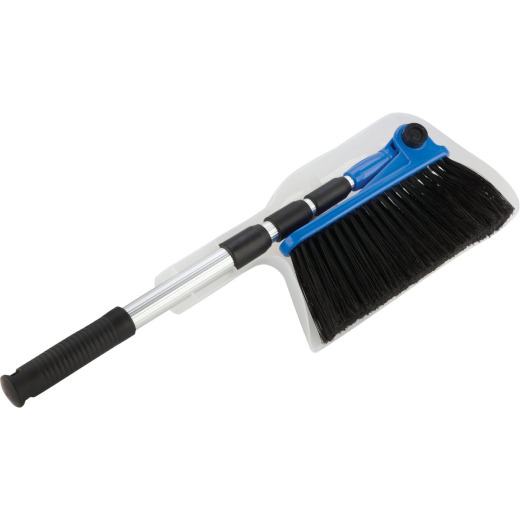 Camco Adjustable Length RV Broom and Dustpan