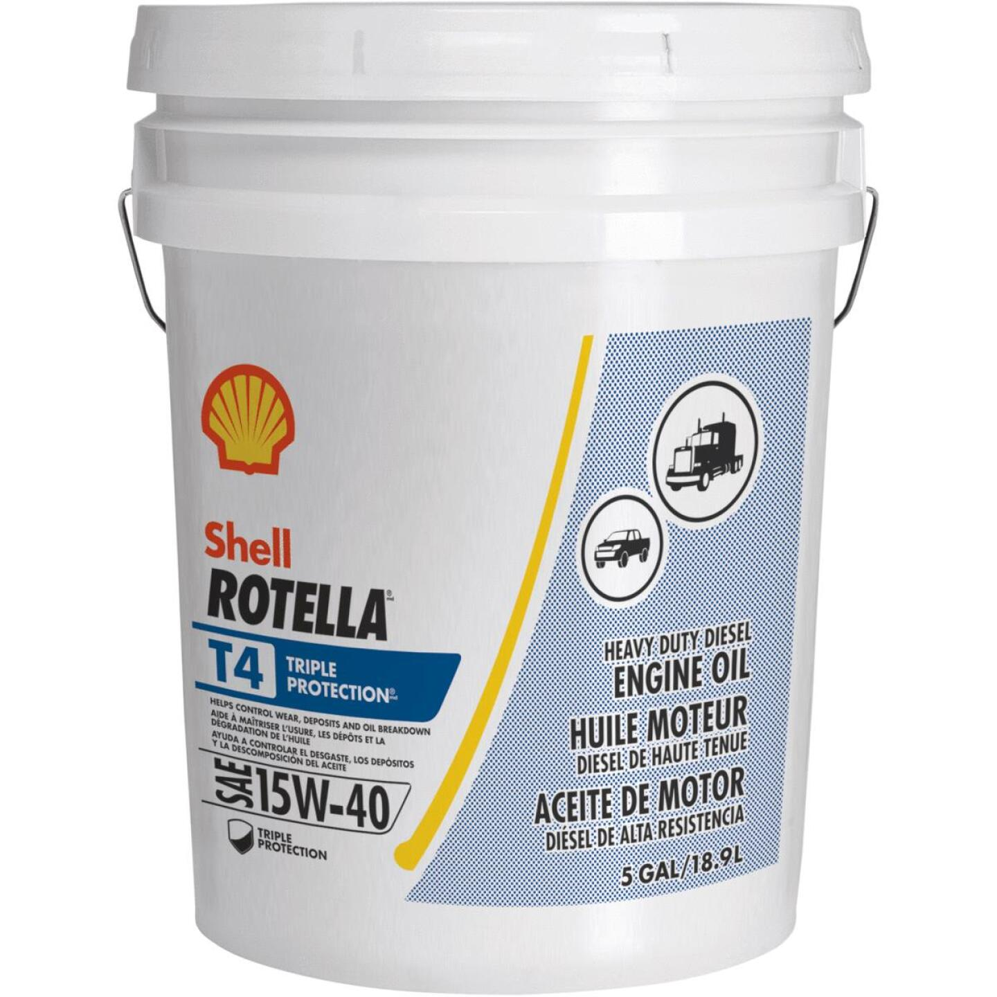 ROTELLA 15W40 5 Gal Triple Protection Motor Oil Image 1