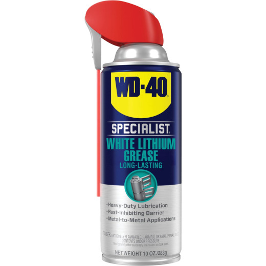 WD-40 Specialist 10 Oz. Aerosol Protective White Lithium Grease