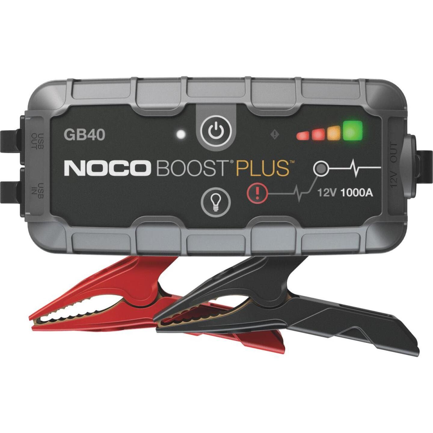 NOCO Boost Plus 1000 Amp 12-Volt UltraSafe Lithium Jump Start System Image 1