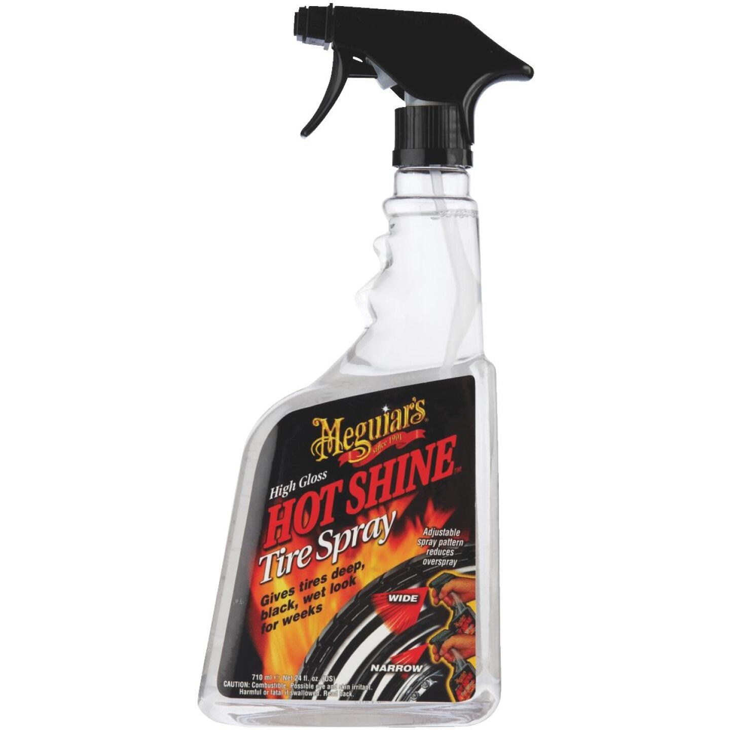 Meguiars Hot Shine High Gloss 24 Oz. Trigger Spray Tire Shine Image 2