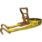 Erickson 2 In. x 27 Ft. 10,000 Lb. Ratchet Strap with Double J Hook Image 1