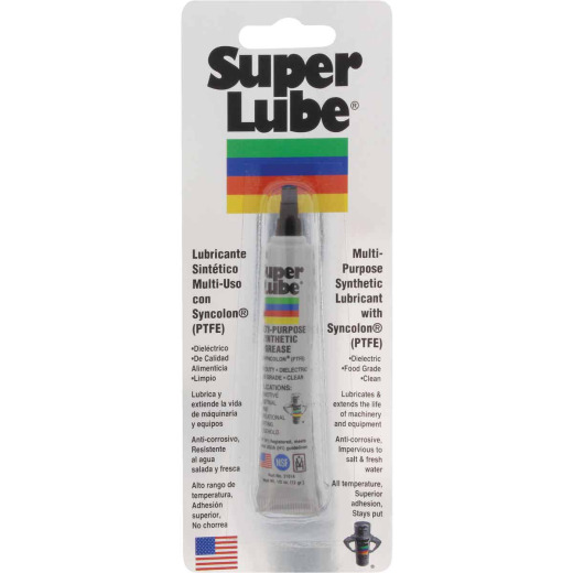 Super Lube 0.5 Oz. Tube Synthetic Multi-Purpose Lubricant