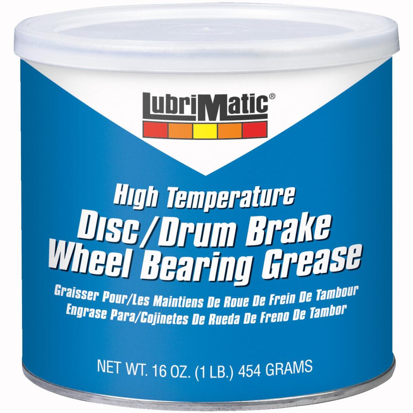 LubriMatic 1 Lb. Can Disc & Drum Brake, High-Temperature Wheel Bearing Grease Image 1