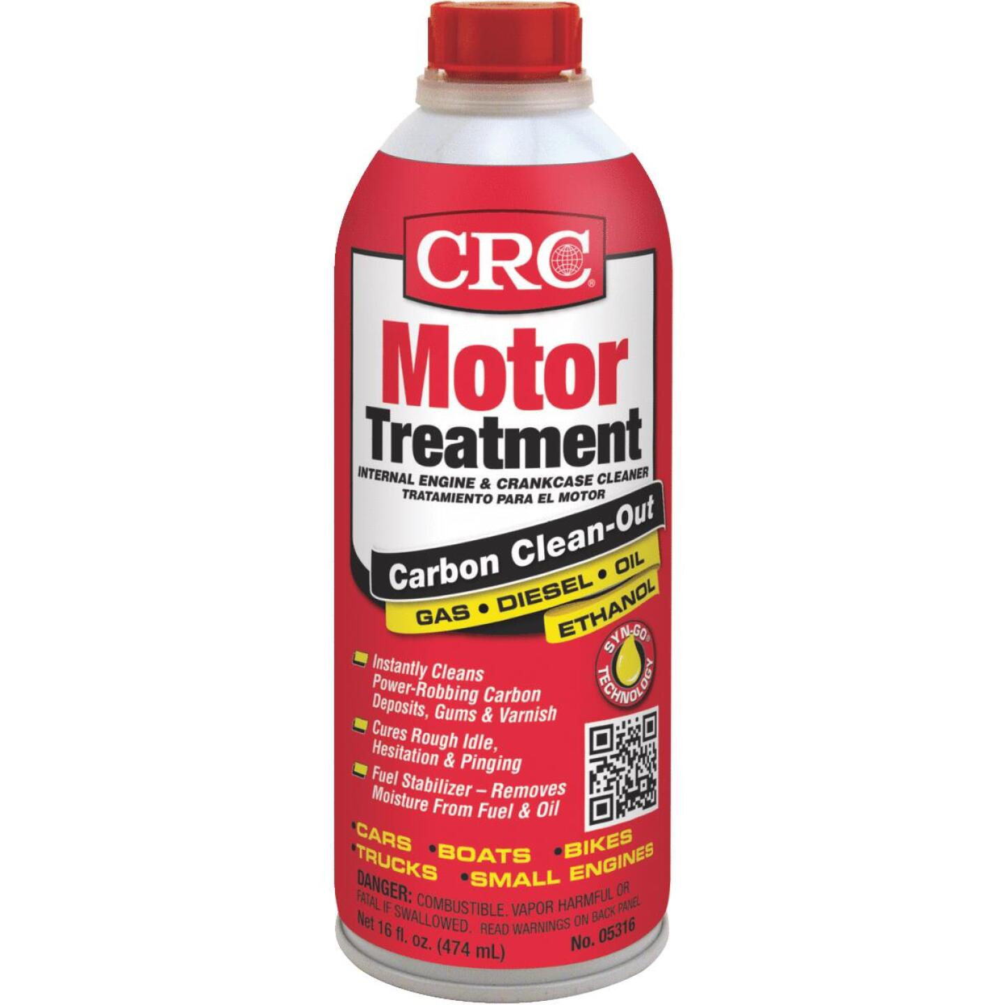 CRC 16 Oz. Engine Treatment/Additive Image 1
