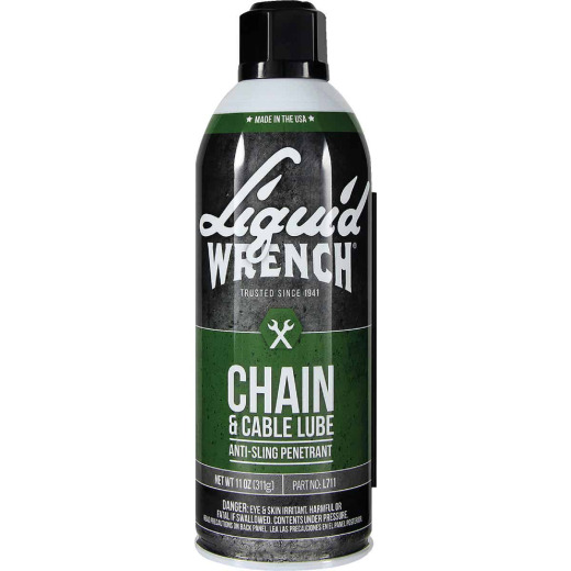 Liquid Wrench 11 Oz. Aerosol Spray Cable and Chain Lubricant