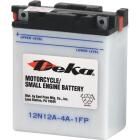 Deka 12-Volt 113 CCA Powersport Battery, Left Front Positive Terminal Image 1