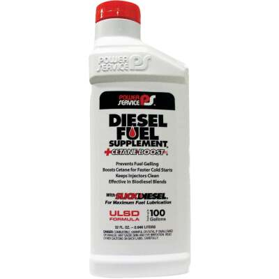 Power Service 32 Oz. Diesel Anti-Gel Fuel Supplement +Cetane Boost
