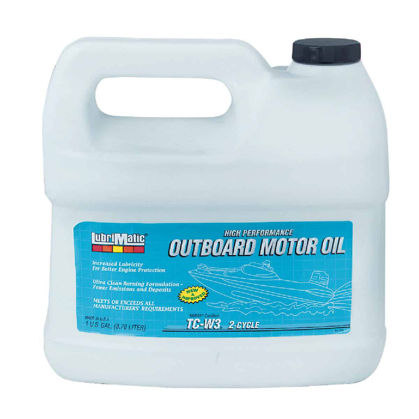 LubriMatic 1 Gal. Outboard 2-Cycle Motor Oil Image 1