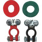 Road Power Top Post Plastic Coated Magnesium/aluminum Alloy Battery Terminal, (2-Count) Image 1