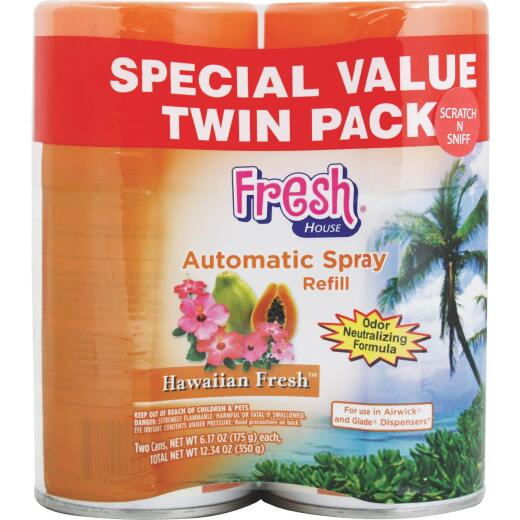 Fresh House Hawaiian Fresh Air Freshener Refill (2-Count)