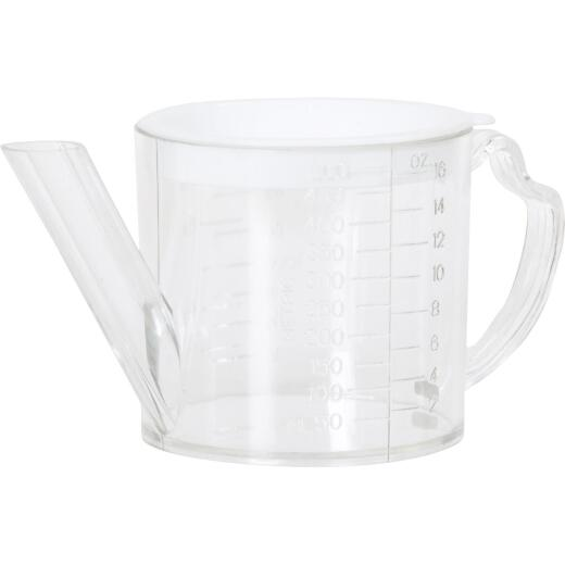 Norpro 2 Cup Clear Plastic Separator & Strainer Measuring Cup