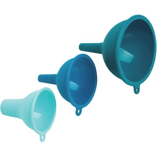 Core Kitchen Silicone Funnels (3 Piece)
