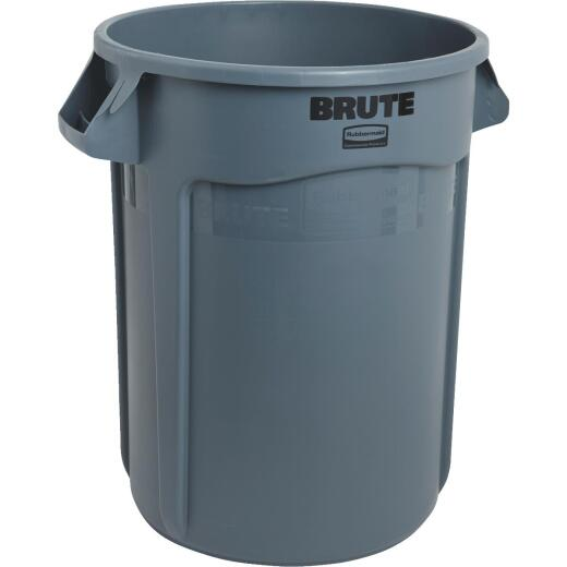 Rubbermaid Commercial Brute 32 Gal. Plastic Commercial Trash Can