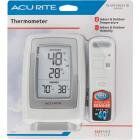 "Acurite 3-1/2"" W x 5-1/2"" H Plastic Wireless Indoor & Outdoor Thermometer Image 2"