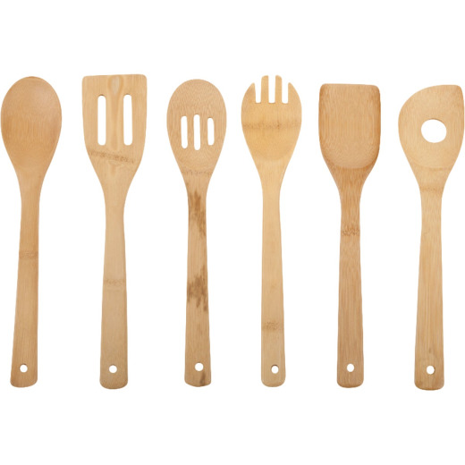 Core Kitchen Bamboo Cooking Utensil Set (6-Piece)