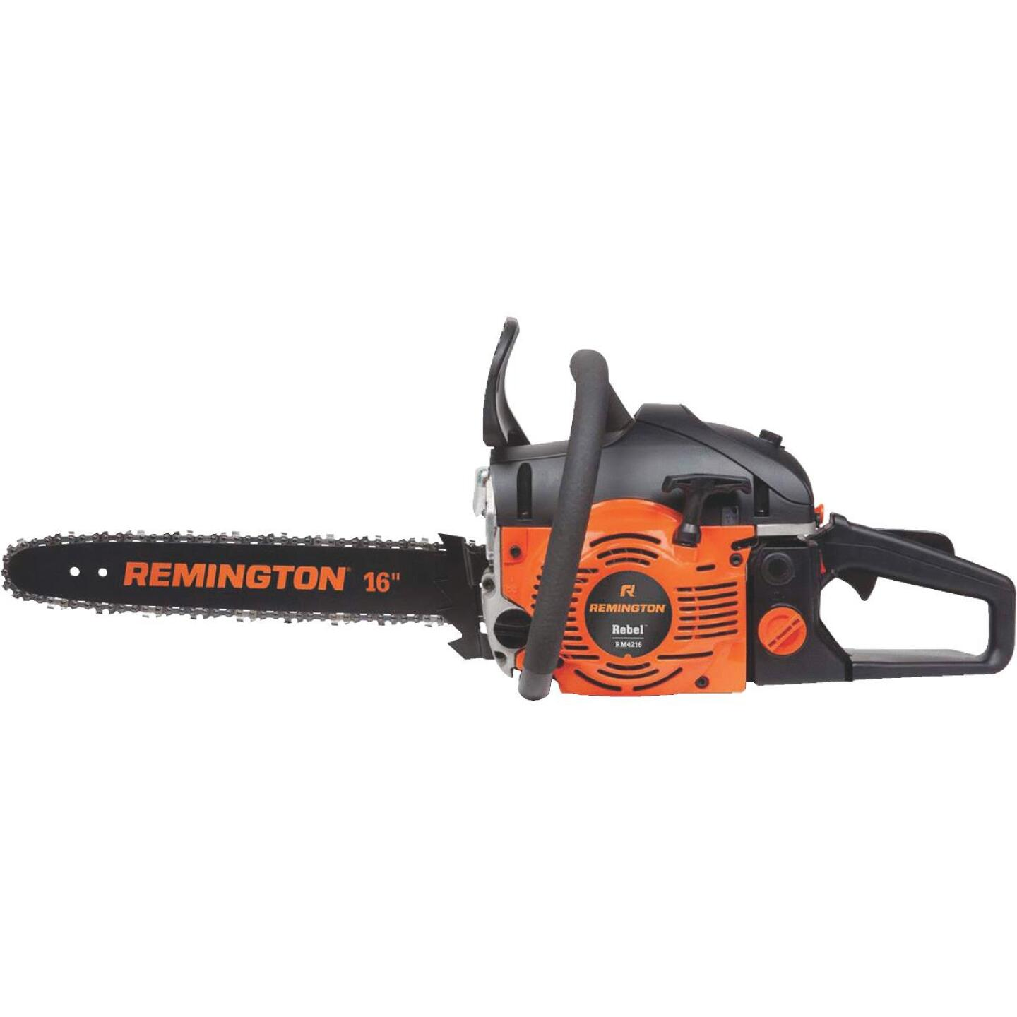 Remington RM4216CS Rebel 42cc 2-Cycle 16 In. Gas Chainsaw Image 1