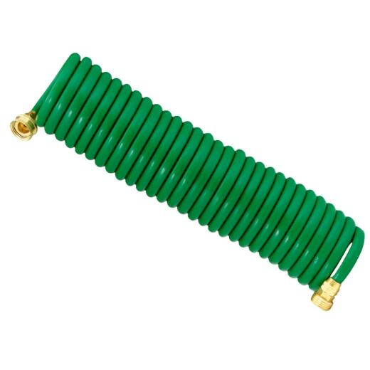 Best Garden 3/8 In. Dia. x 25 Ft. L. Coiled Hose