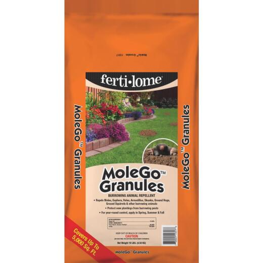 Fertilome MoleGo 10 Lb. Granular Mole & Gopher Repellent