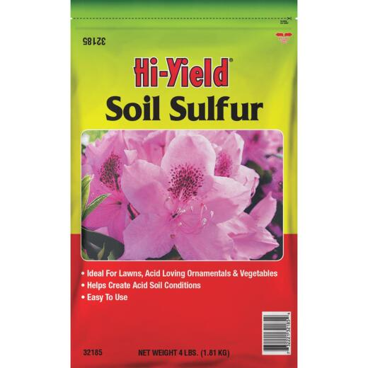 Hi-Yield 4 Lb. 400 Ft. Coverage Soil Sulfur