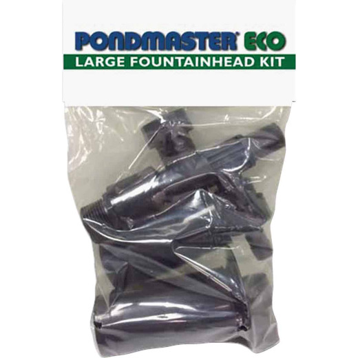 PondMaster Eco Large Poly Fountain Head Nozzle Kit