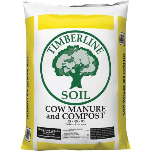 Timberline 40 Lb. 1 Cu. Ft. Compost & Cow Manure