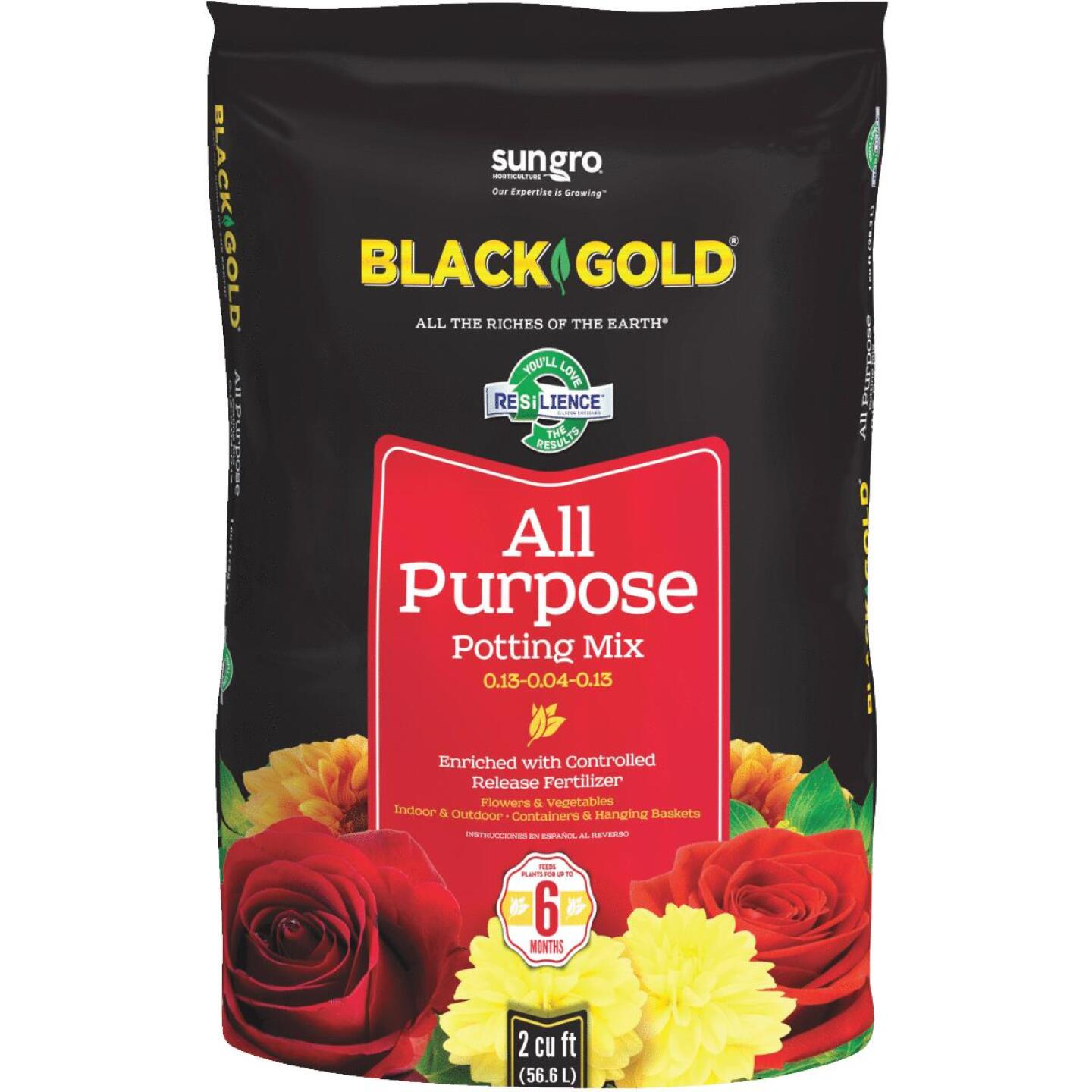 Black Gold 2 Cu. Ft. 47-1/2 Lb. All Purpose Potting Soil Image 1