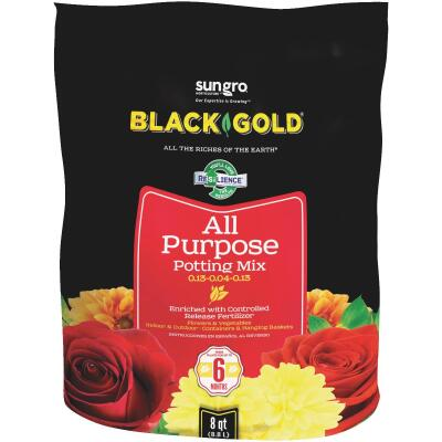 Black Gold 8 Qt. All Purpose Potting Soil