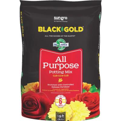 Black Gold 1 Cu. Ft. All Purpose Potting Soil