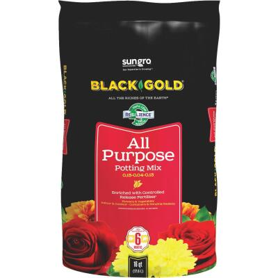 Black Gold 16 Qt. All Purpose Potting Soil