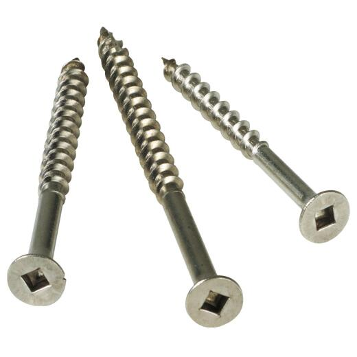 Simpson Strong-Tie #8 x 2 In. Stainless Steel Bugle Head Deck Screw (1 Lb. Box)