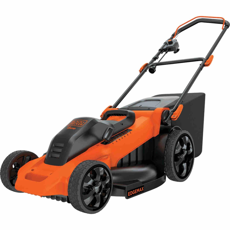 Black & Decker 20 In. 13A Push Electric Lawn Mower Image 10