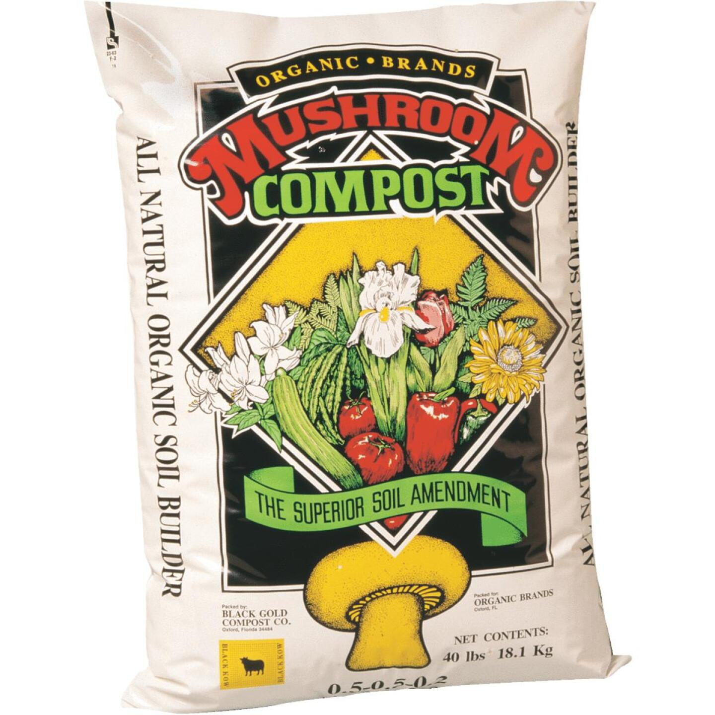 Cowart IncrediSoil 1 Cu. Ft. 46 Lb. All Natural Mushroom Compost Image 1
