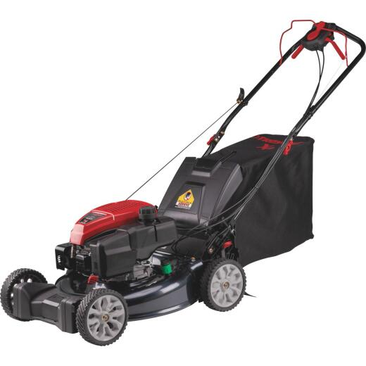 Troy-Bilt 21 In. 163cc OHV Briggs & Stratton Rear Wheel Drive Self-Propelled Gas Lawn Mower