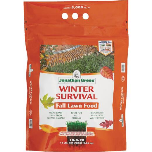 Jonathan Green Winter Survival 18 Lb. 5000 Sq. Ft. 10-0-20 Winterizer Fall Fertilizer