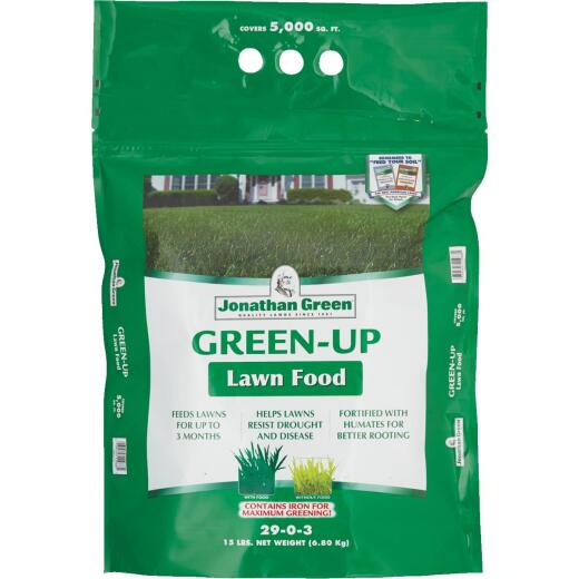 Jonathan Green Green-Up 15 Lb. 5000 Sq. Ft. 29-0-3 Lawn Fertilizer