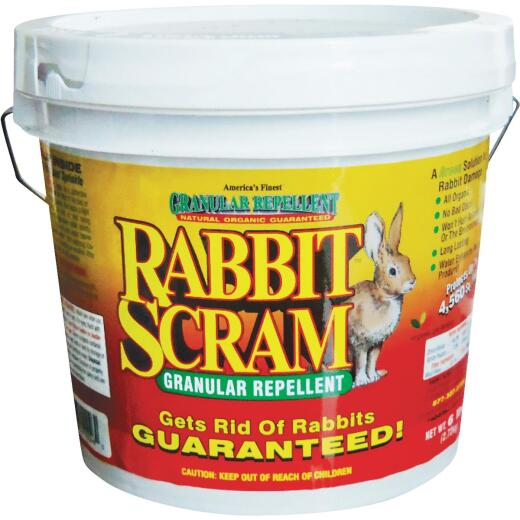 Rabbit Scram 6 Lb. Granular Organic Rabbit Repellent