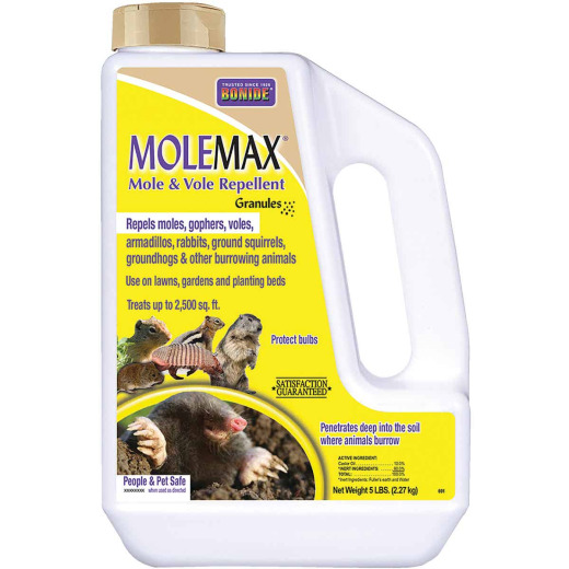 Bonide Molemax 5 Lb. Granular Animal Repellent