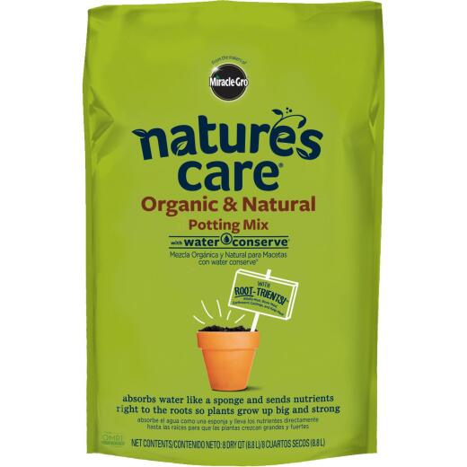 Miracle-Gro Nature's Care 8 Qt. All Purpose Organic Potting Soil