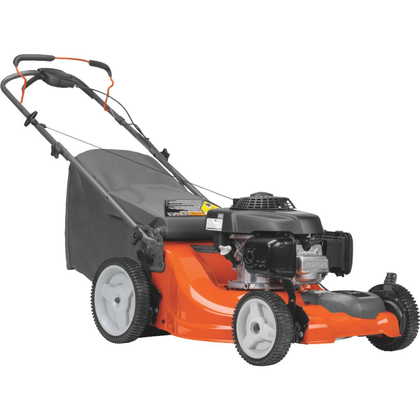 Husqvarna LC221FH 21 In. 160cc OHV Honda Front Wheel Drive Self-Propelled Gas Lawn Mower Image 1