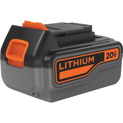 Black & Decker 20V MAX 3.0 Ah Tool Replacement Battery