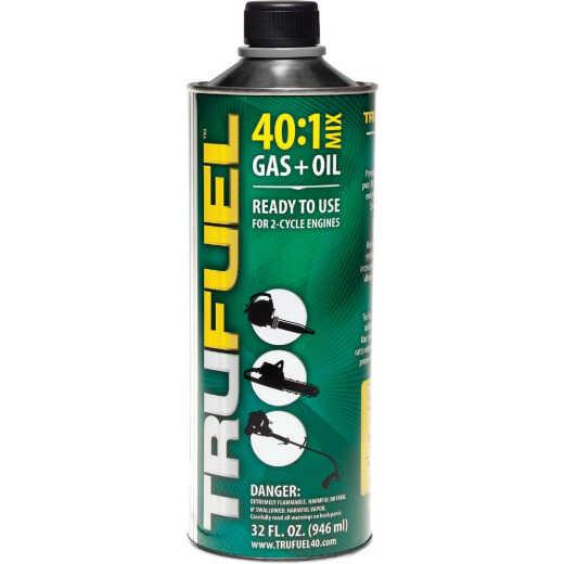 TruFuel 32 Oz. 40:1 Ethanol-Free Small Engine Fuel & Oil Pre-Mix