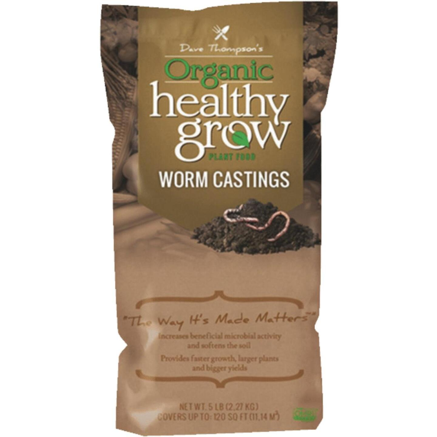 Healthy Grow 4 Lb. Organic Worm Castings Manure Image 1