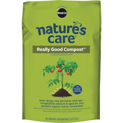 Miracle-Gro Nature's Care 1 Cu. Ft. 36 Lb. Organic Lawn & Garden Compost