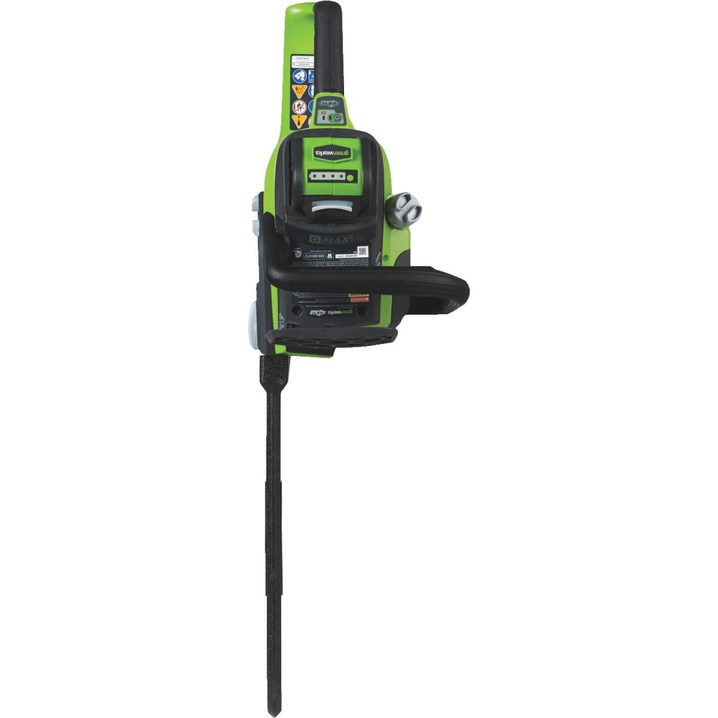 Greenworks G-MAX 16 In. 40V Lithium Ion Brushless Cordless Chainsaw Image 4