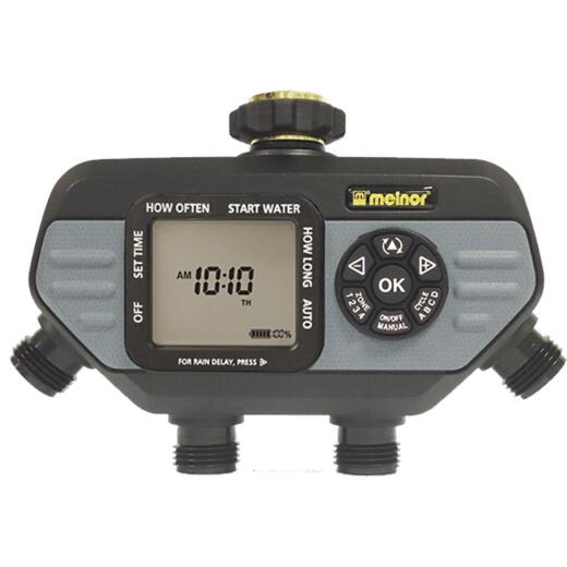 Melnor Hydrologic Electronic 4-Zone Day Specific Programmable Water Timer