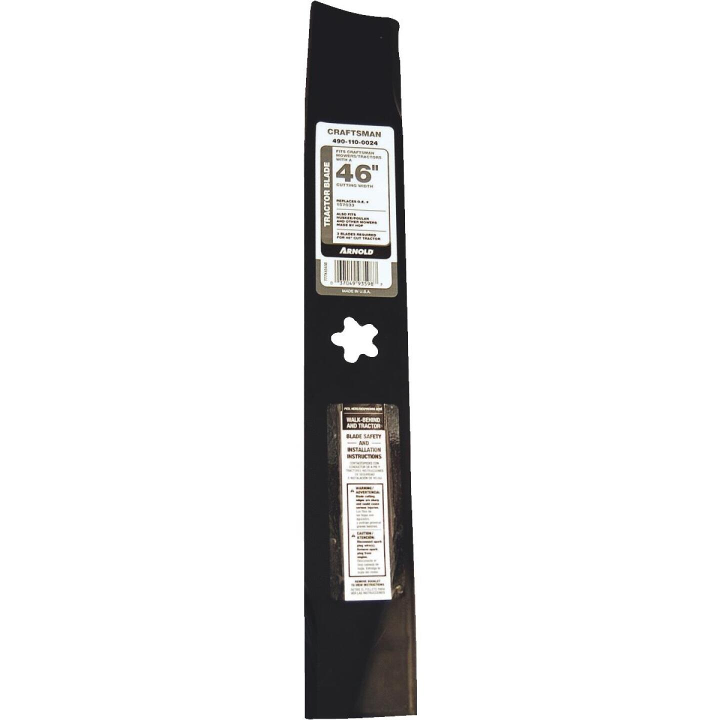 Arnold 46 In. Tractor Mower Blade Image 1