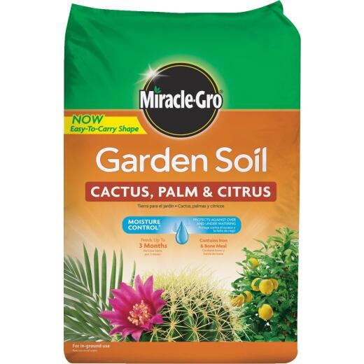 Miracle-Gro 1.5 Cu. Ft. Fast Draining Garden Soil